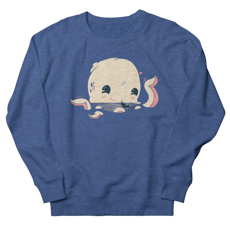 Adorable Octopus Battle Men's Sweatshirt by Ryder Doty Design Shop