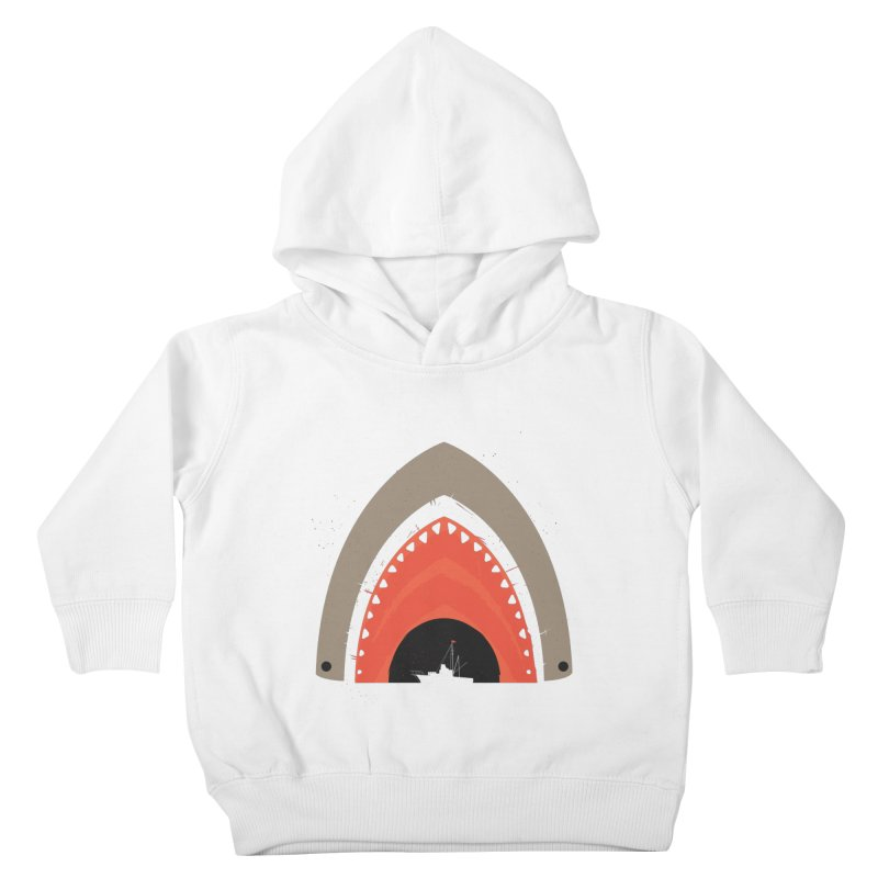 Great White Bite Kids Toddler Pullover Hoody by Ryder Doty Shop