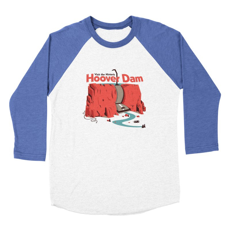 The Hoover Dam Women's Longsleeve T-Shirt by Ryder Doty Shop