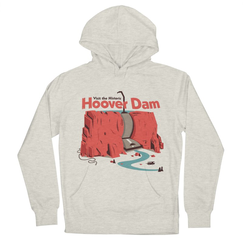 The Hoover Dam Women's French Terry Pullover Hoody by Ryder Doty Shop
