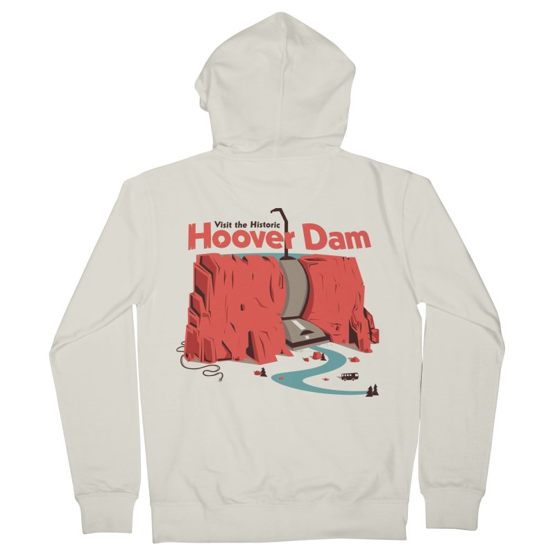 The Hoover Dam Men's French Terry Zip-Up Hoody by Ryder Doty Shop