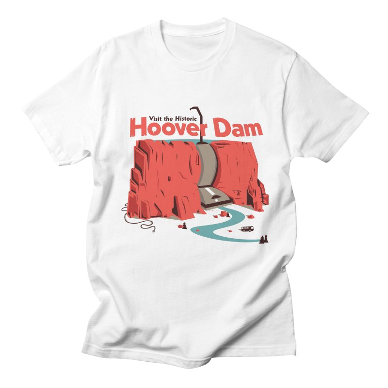 The Hoover Dam Men's Regular T-Shirt by Ryder Doty Shop