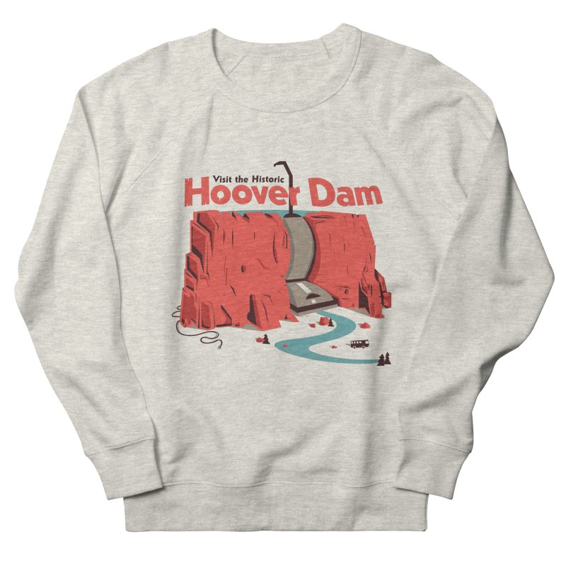 The Hoover Dam Men's French Terry Sweatshirt by Ryder Doty Shop