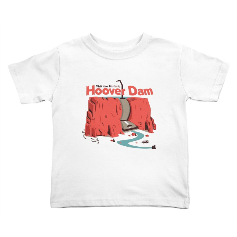 The Hoover Dam Kids Toddler T-Shirt by Ryder Doty Design Shop