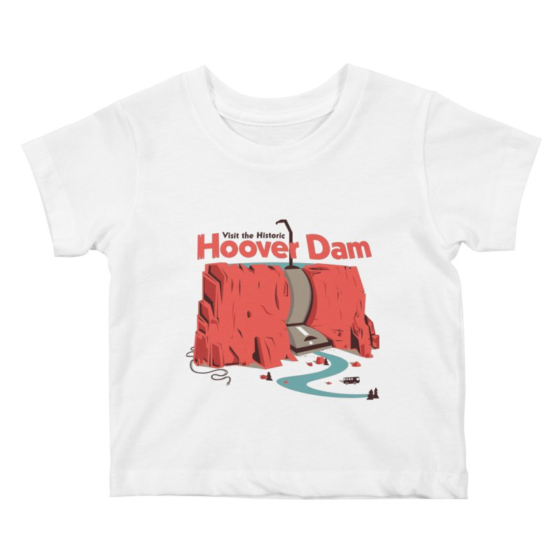 The Hoover Dam Kids Baby T-Shirt by Ryder Doty Shop