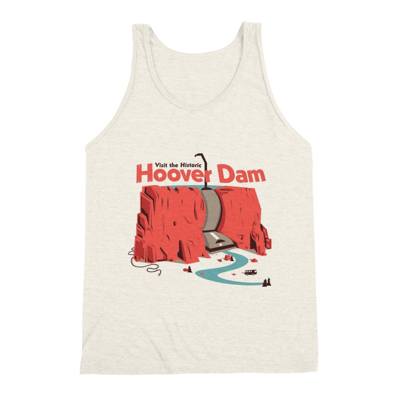 The Hoover Dam Men's Triblend Tank by Ryder Doty Shop