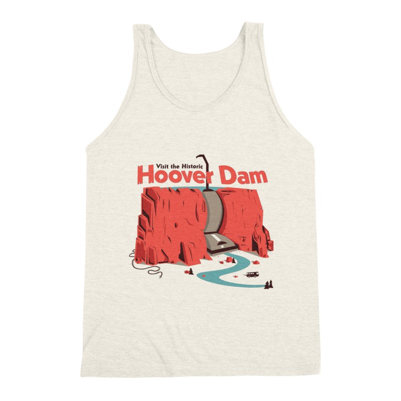 The Hoover Dam Men's Tank by Ryder Doty Shop