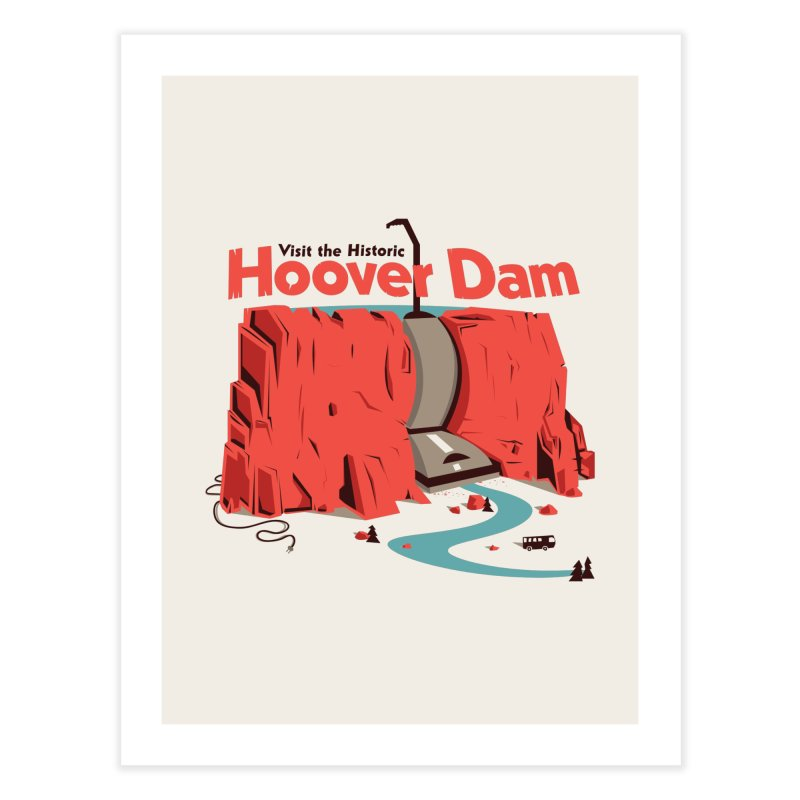 The Hoover Dam   by Ryder Doty Design Shop