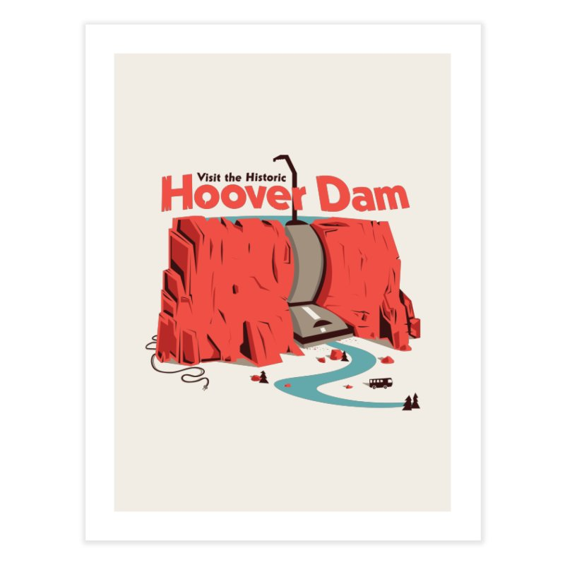 The Hoover Dam Home Fine Art Print by Ryder Doty Shop