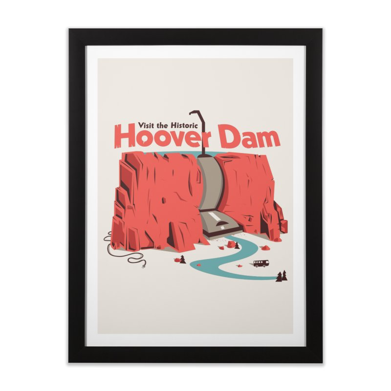 The Hoover Dam Home Framed Fine Art Print by Ryder Doty Shop