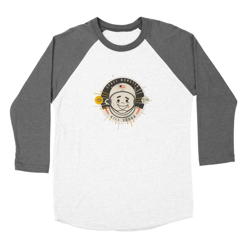 Space Monster Kill Squad Women's Longsleeve T-Shirt by Ryder Doty Shop