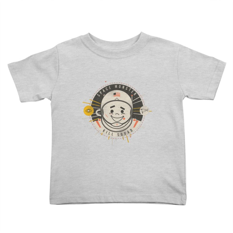 Space Monster Kill Squad Kids Toddler T-Shirt by Ryder Doty Shop