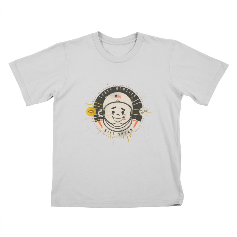 Space Monster Kill Squad Kids T-Shirt by Ryder Doty Shop