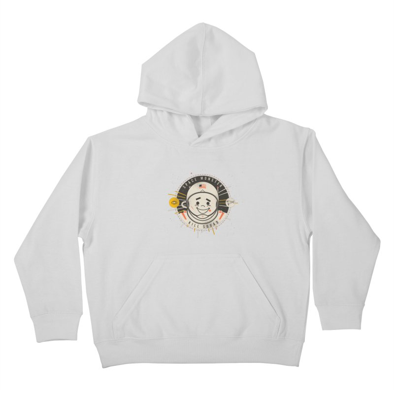 Space Monster Kill Squad Kids Pullover Hoody by Ryder Doty Shop