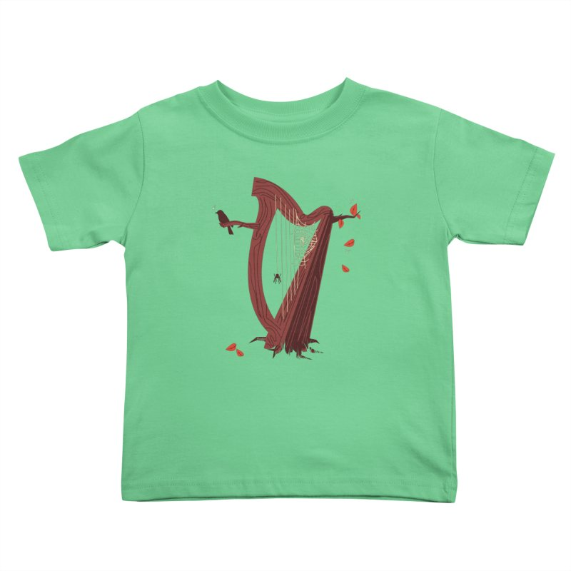 A Natural Sound Kids Toddler T-Shirt by Ryder Doty Design Shop