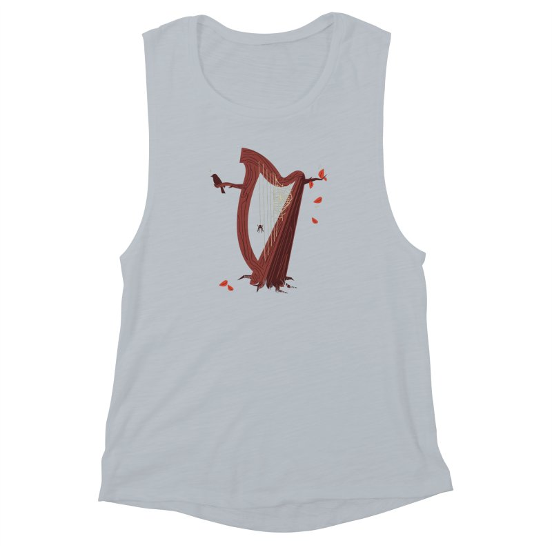 A Natural Sound Women's Muscle Tank by Ryder Doty Shop