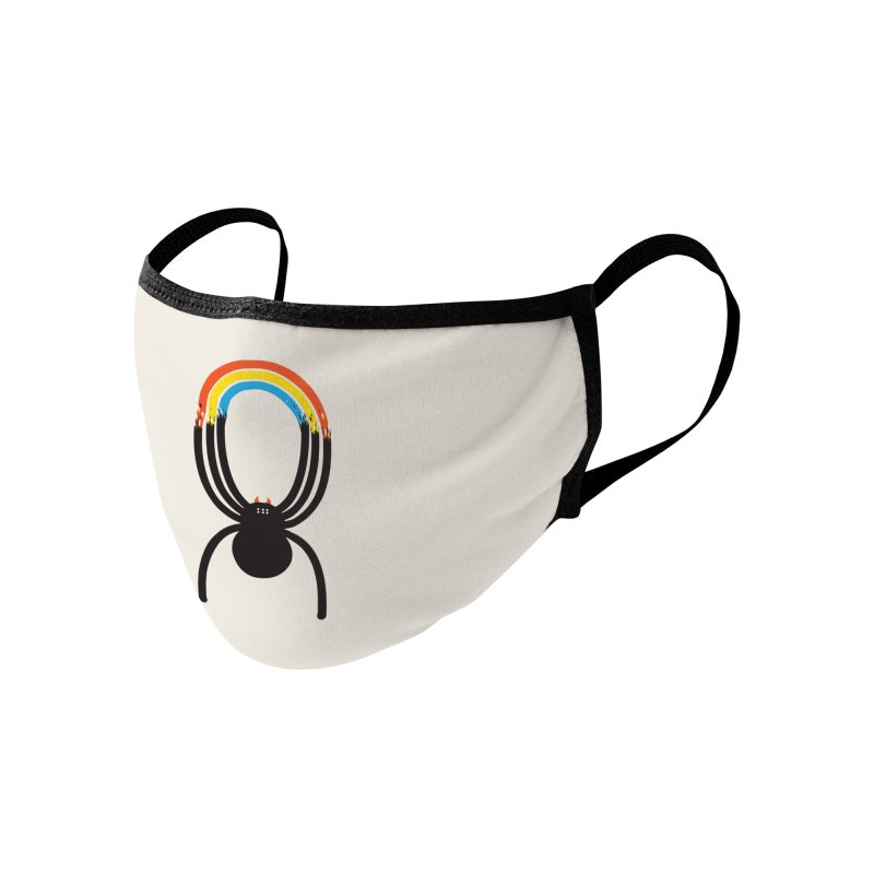 Spiders Are Rainbows Accessories Face Mask by Ryder Doty Shop