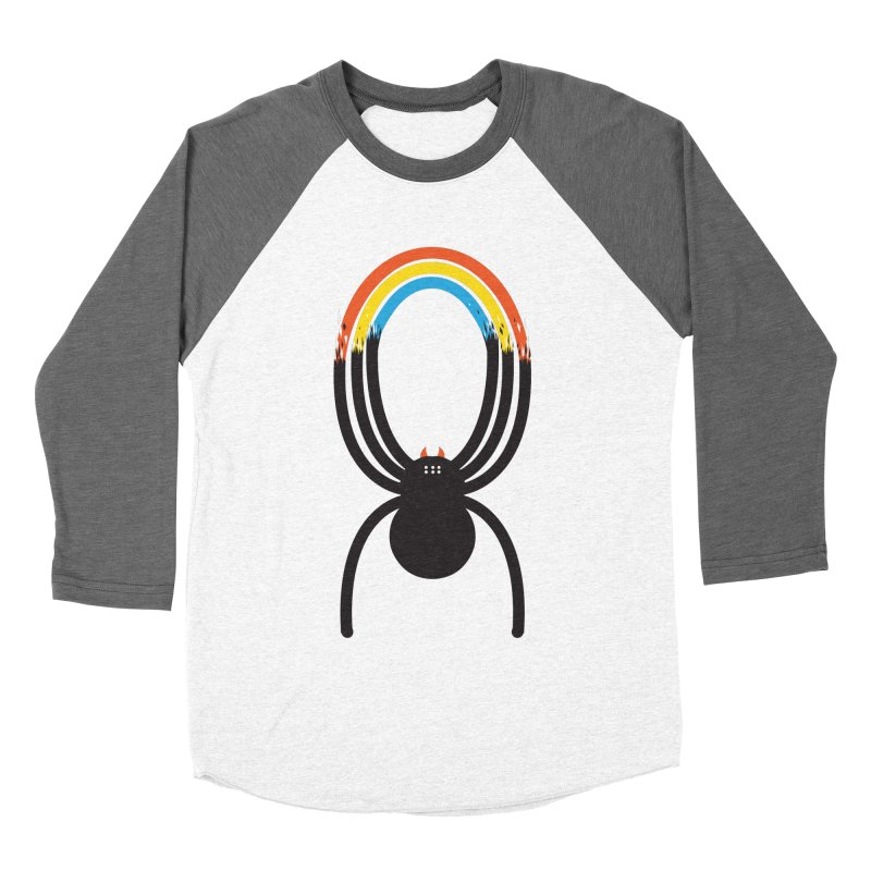 Spiders Are Rainbows Men's Baseball Triblend Longsleeve T-Shirt by Ryder Doty Shop