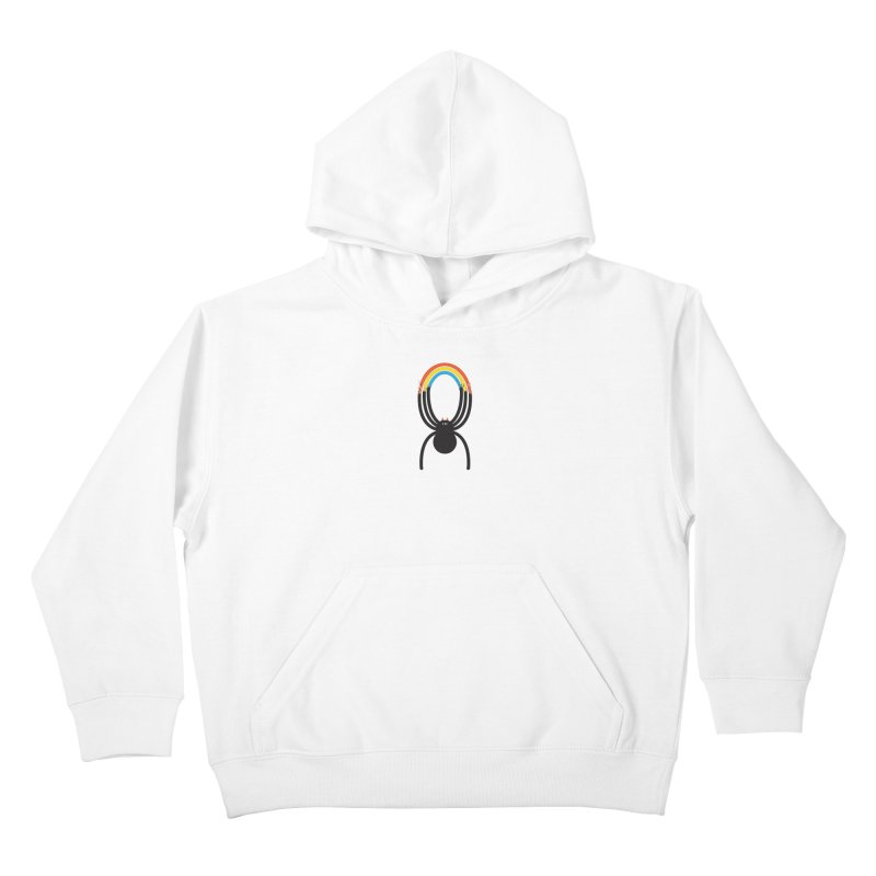 Spiders Are Rainbows Kids Pullover Hoody by Ryder Doty Shop