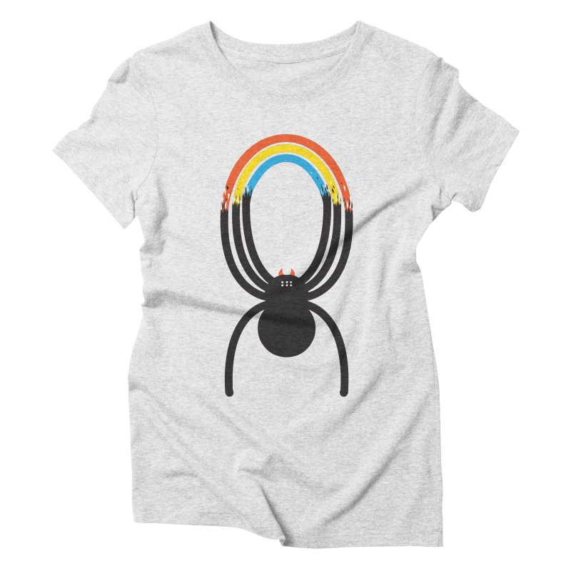 Spiders Are Rainbows Women's Triblend T-Shirt by Ryder Doty Shop