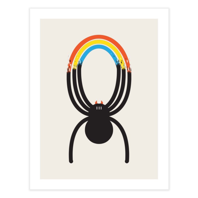 Spiders Are Rainbows Home Fine Art Print by Ryder Doty Shop