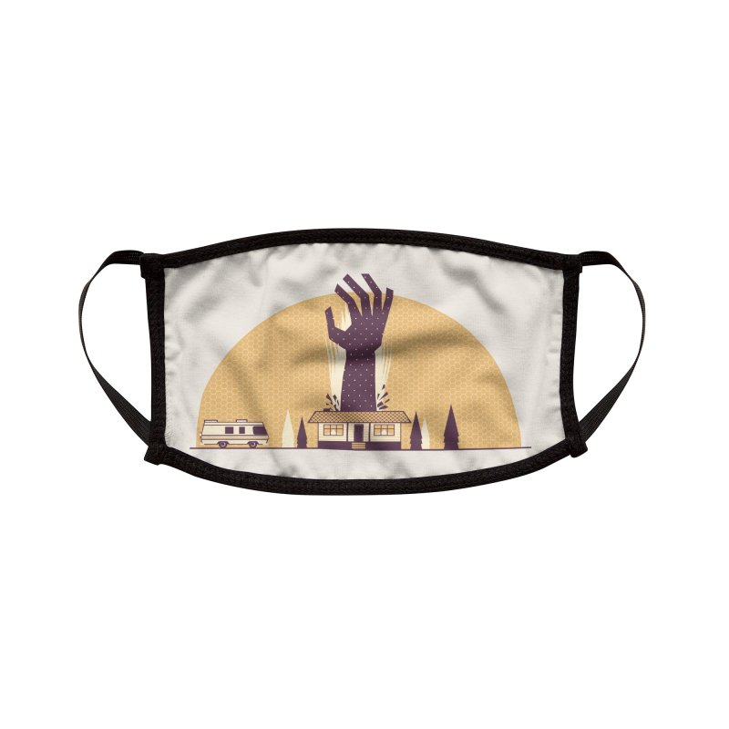 Cabin in the Woods Accessories Face Mask by Ryder Doty Shop