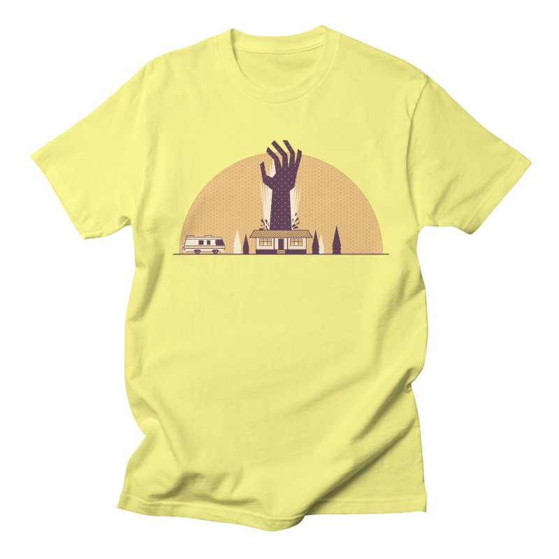 Cabin in the Woods Men's T-Shirt by Ryder Doty Shop