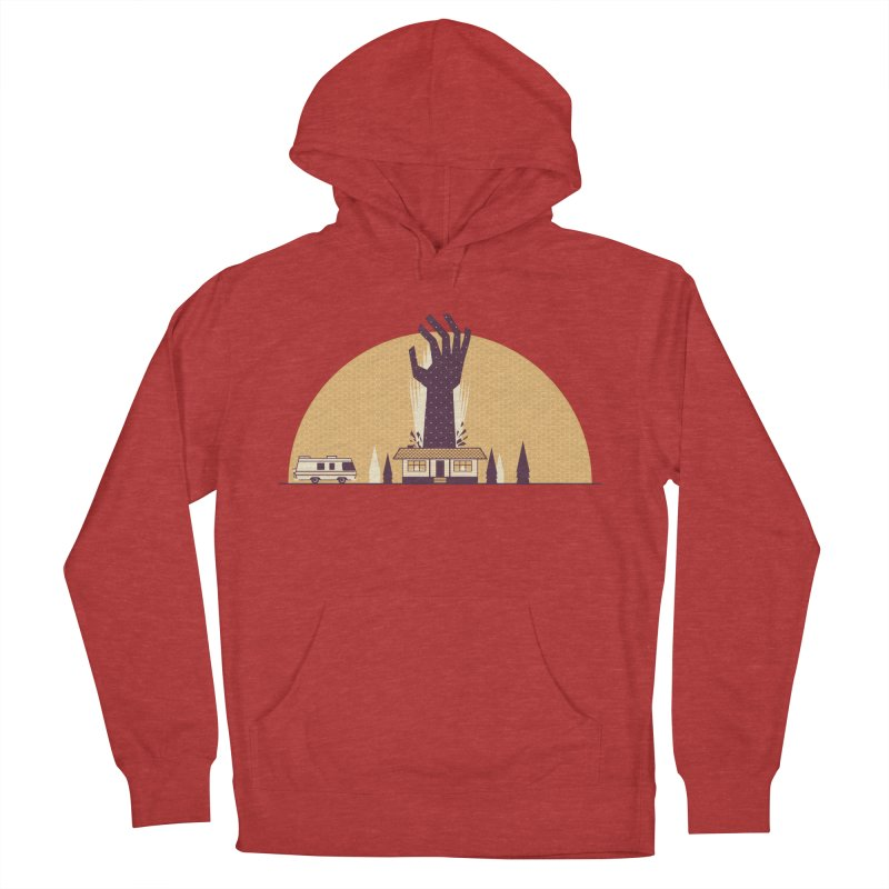 Cabin in the Woods Women's French Terry Pullover Hoody by Ryder Doty Shop