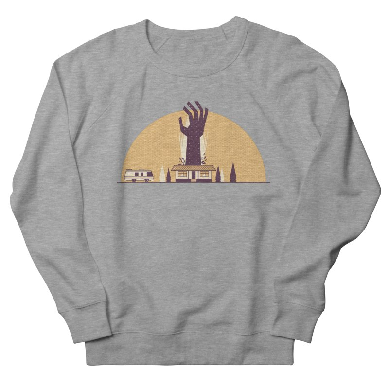 Cabin in the Woods Men's French Terry Sweatshirt by Ryder Doty Shop