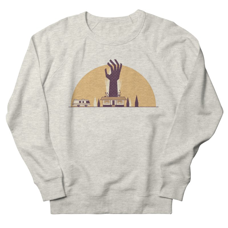Cabin in the Woods Men's Sweatshirt by Ryder Doty Design Shop