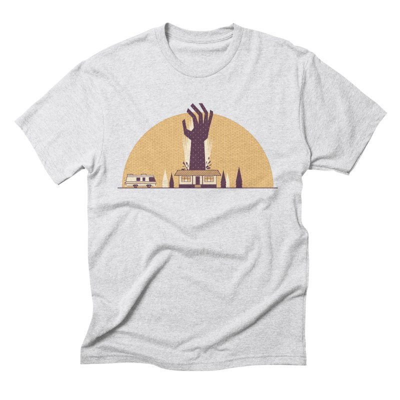 Cabin in the Woods Men's Triblend T-Shirt by Ryder Doty Shop