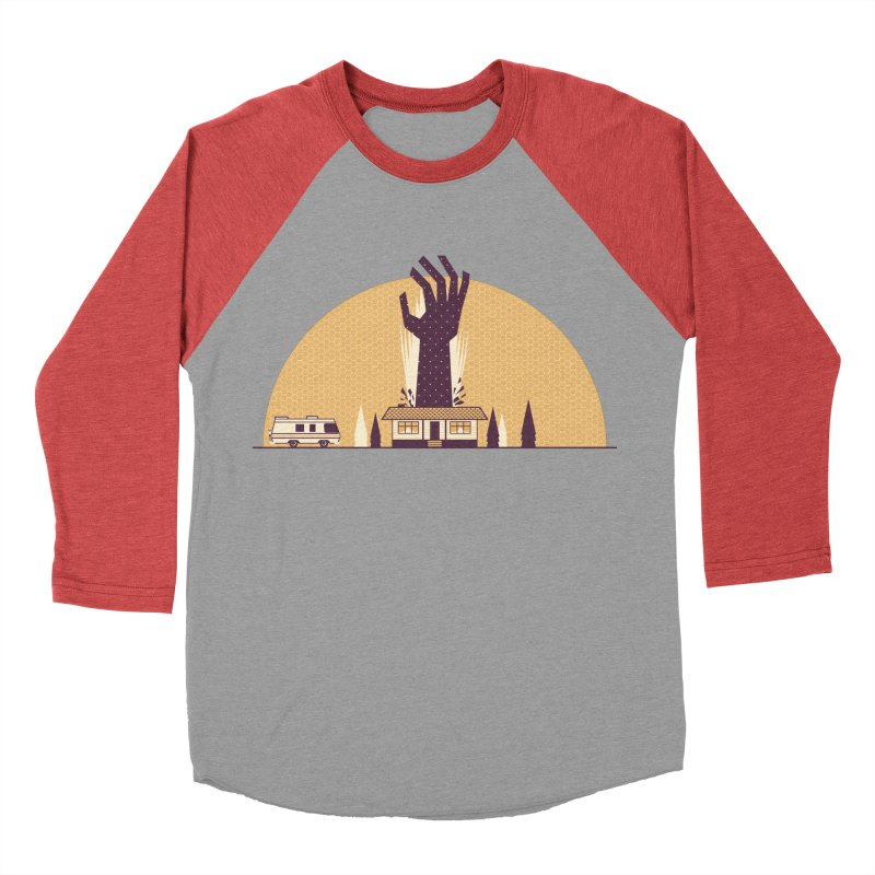 Cabin in the Woods Women's Baseball Triblend Longsleeve T-Shirt by Ryder Doty Shop