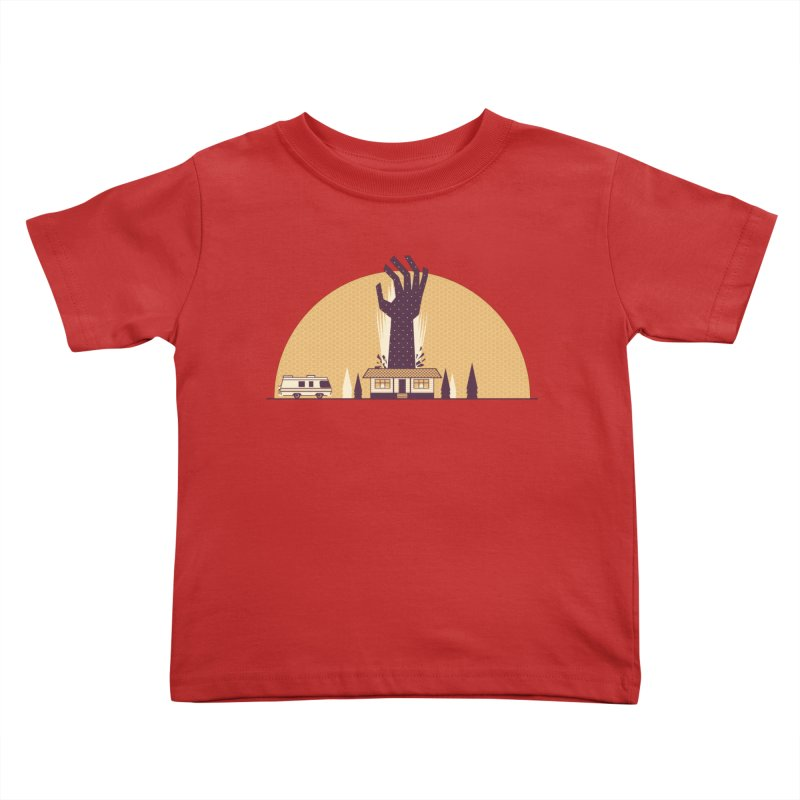 Cabin in the Woods Kids Toddler T-Shirt by Ryder Doty Shop