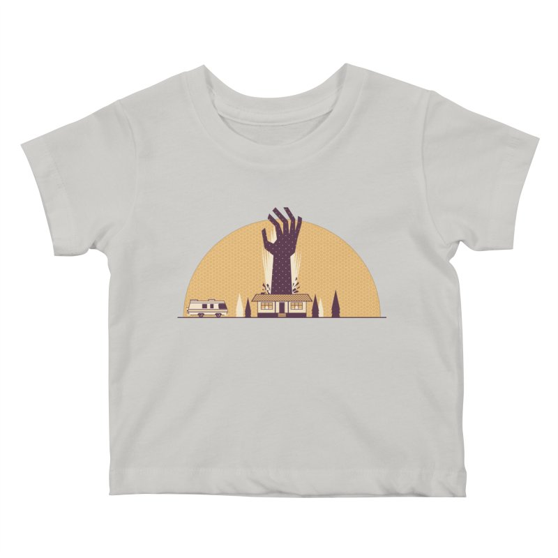 Cabin in the Woods Kids Baby T-Shirt by Ryder Doty Shop