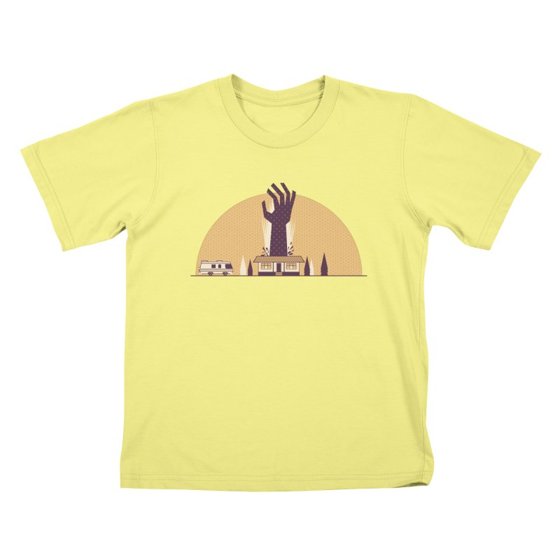 Cabin in the Woods Kids T-shirt by Ryder Doty Shop