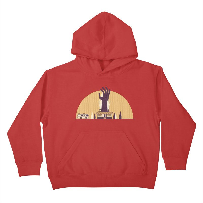 Cabin in the Woods Kids Pullover Hoody by Ryder Doty Shop