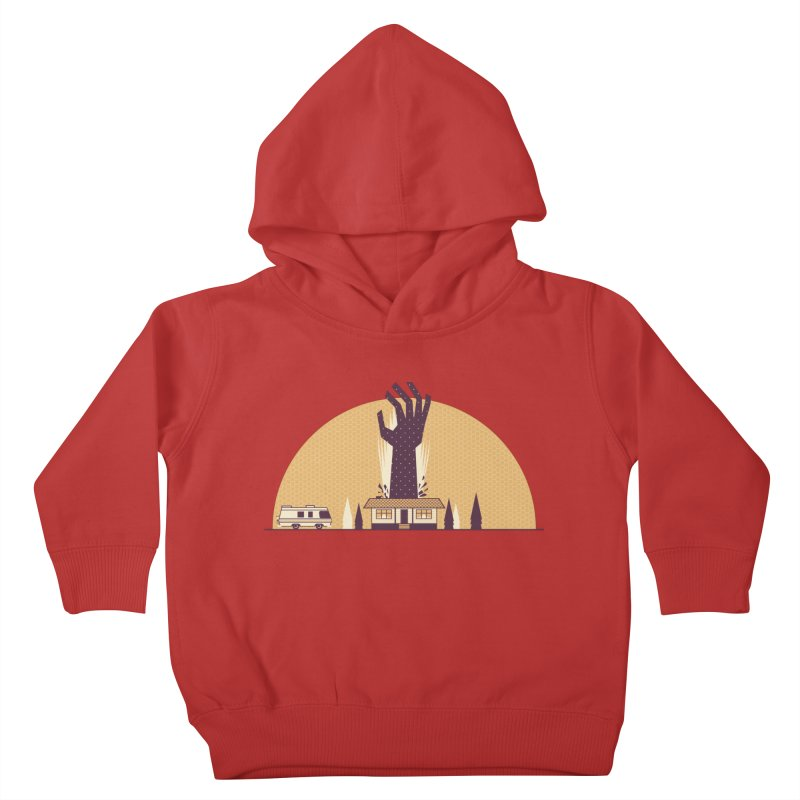 Cabin in the Woods Kids Toddler Pullover Hoody by Ryder Doty Shop