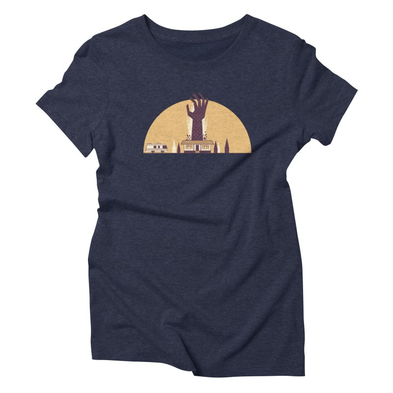 Cabin in the Woods Women's T-Shirt by Ryder Doty Shop