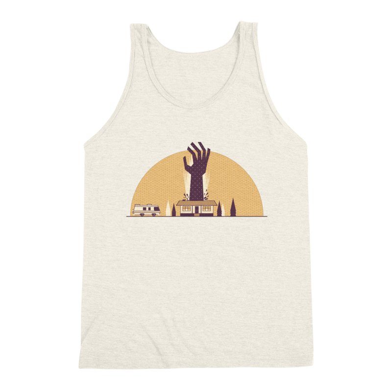 Cabin in the Woods Men's Triblend Tank by Ryder Doty Shop
