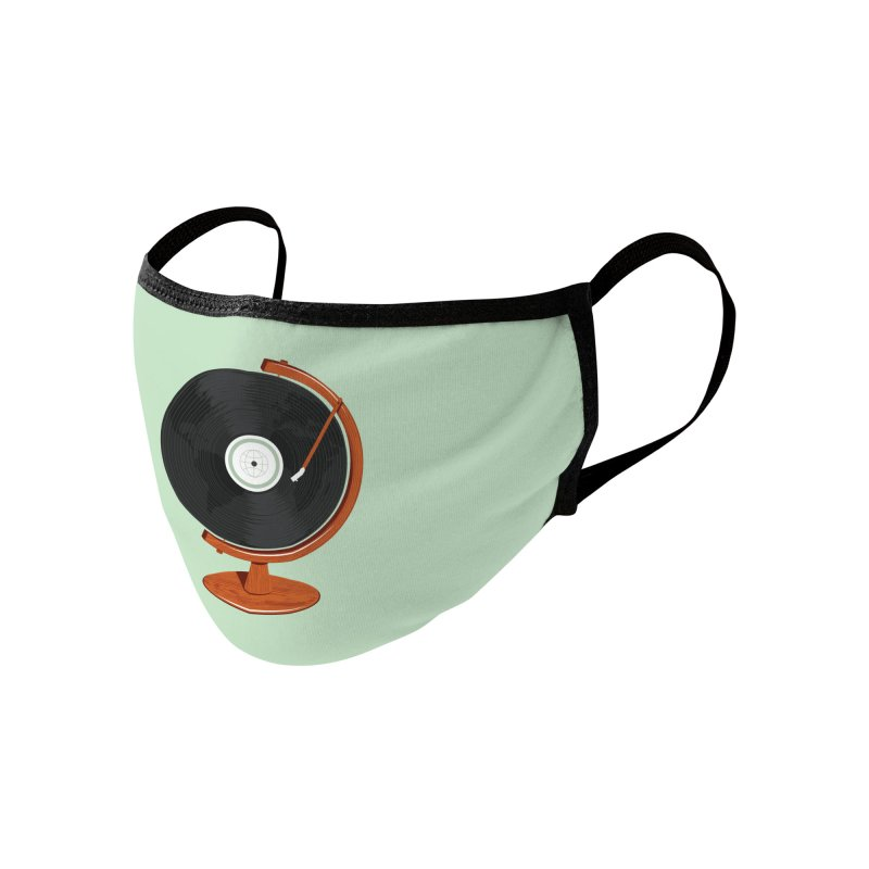 World Record Accessories Face Mask by Ryder Doty Shop