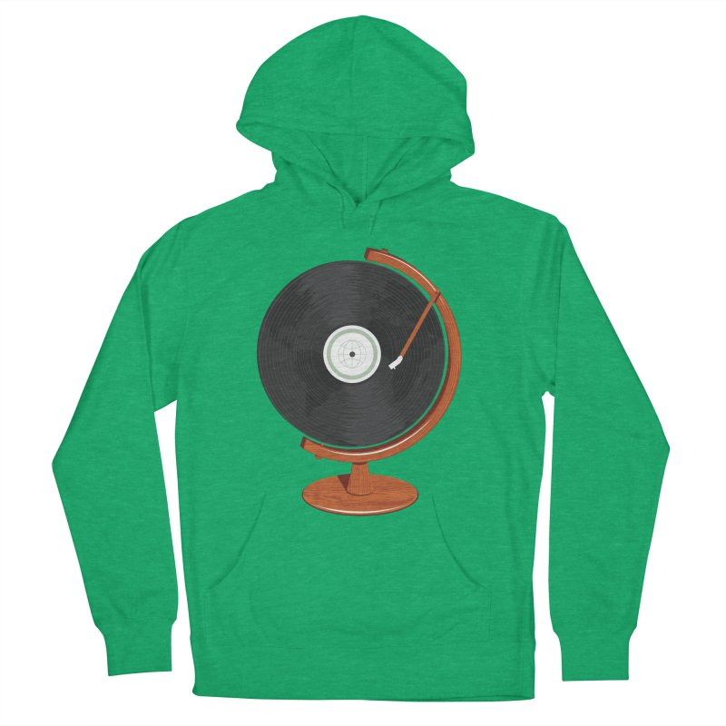 World Record Men's French Terry Pullover Hoody by Ryder Doty Shop