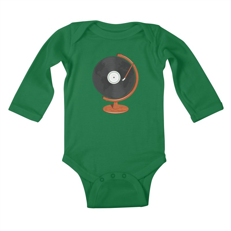 World Record Kids Baby Longsleeve Bodysuit by Ryder Doty Shop