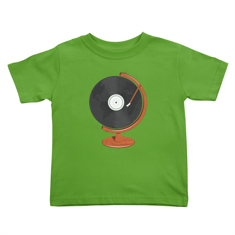 World Record Kids Toddler T-Shirt by Ryder Doty Shop