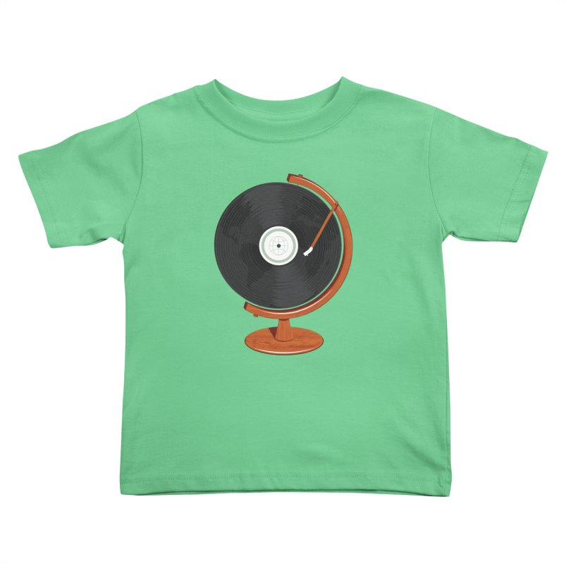 World Record Kids Toddler T-Shirt by Ryder Doty Design Shop