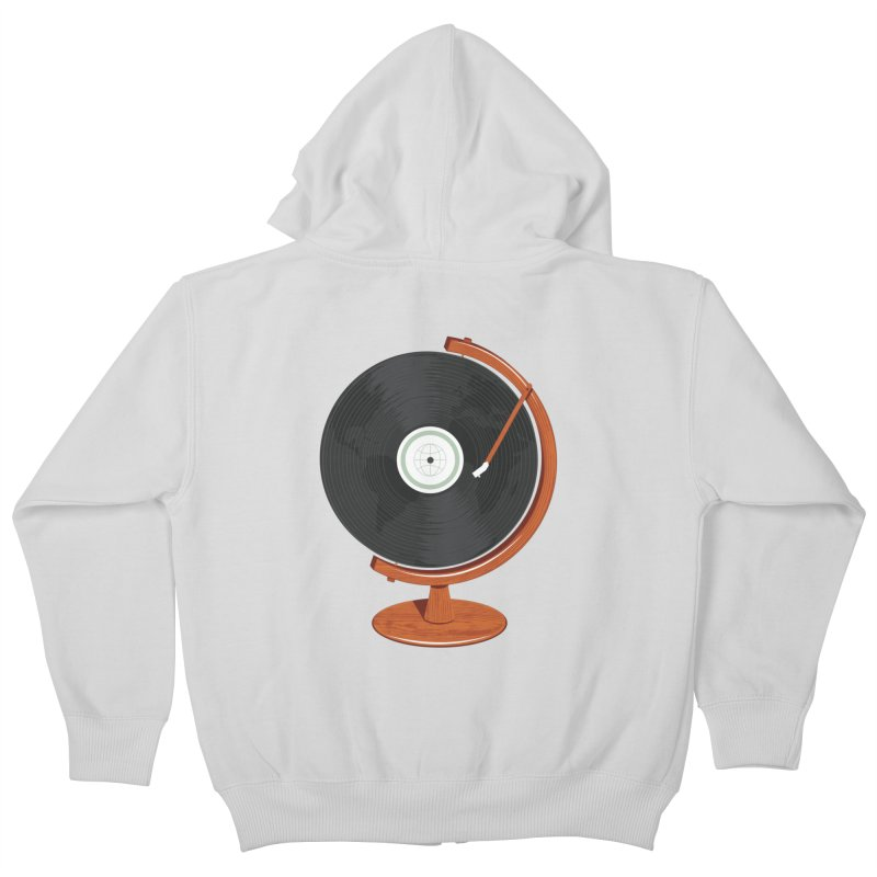 World Record Kids Zip-Up Hoody by Ryder Doty Shop