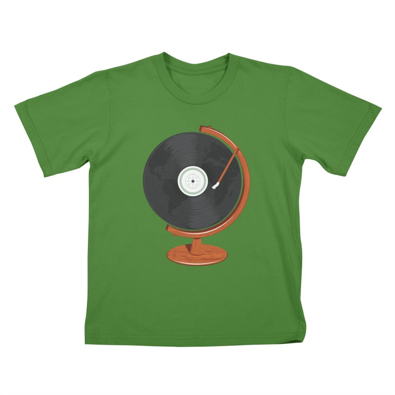 World Record Kids T-Shirt by Ryder Doty Shop