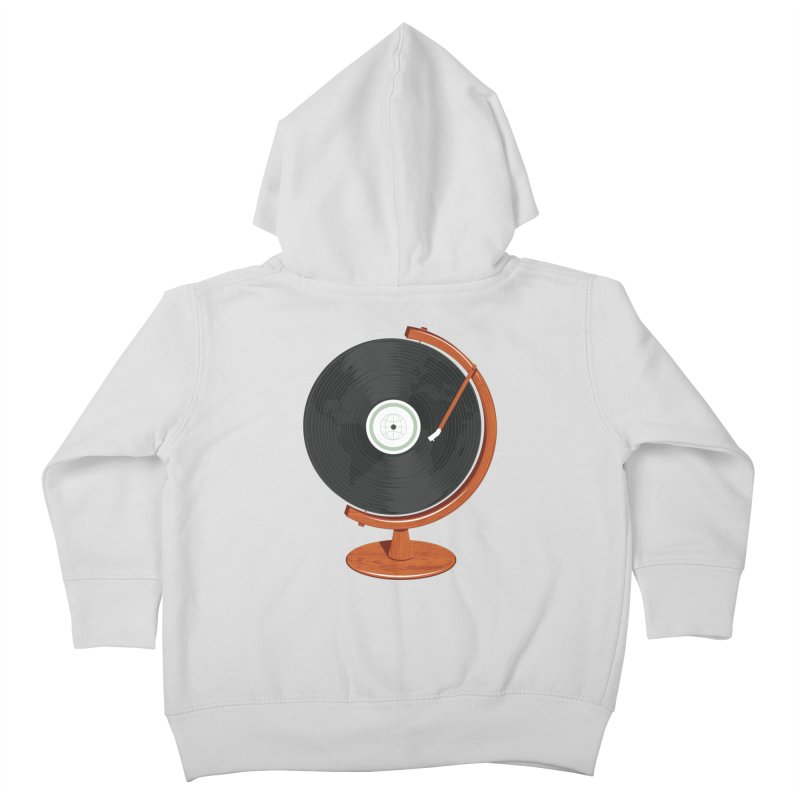 World Record Kids Toddler Zip-Up Hoody by Ryder Doty Design Shop