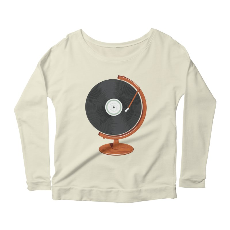 World Record Women's Scoop Neck Longsleeve T-Shirt by Ryder Doty Shop