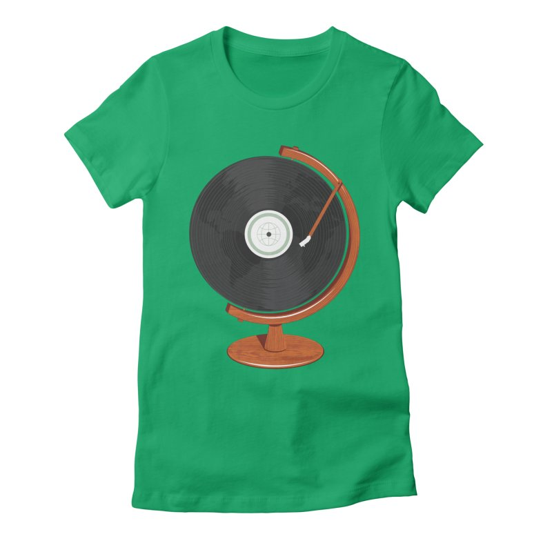 World Record Women's Fitted T-Shirt by Ryder Doty Shop
