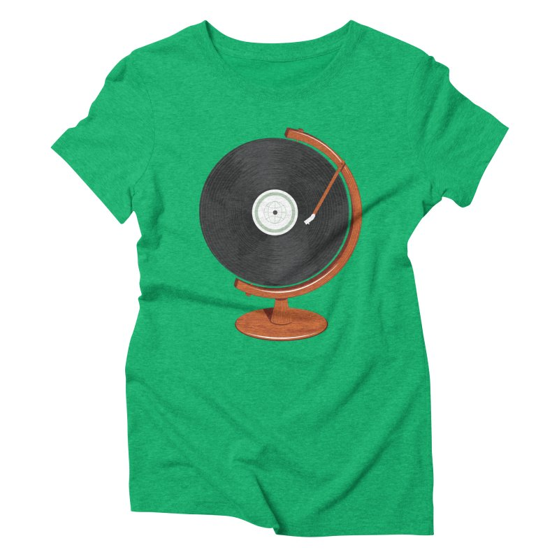 World Record Women's Triblend T-Shirt by Ryder Doty Shop